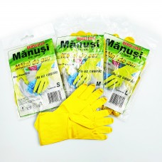Set mănuși latex S, M, L
