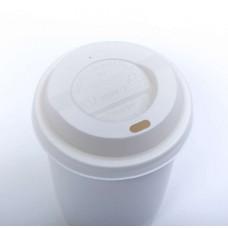 Capac biodegradabil To-Go pentru băuturi calde   PLA cu diametru - 90 mm
