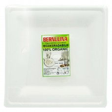 "Set Farfurii Biodegradabile patrate 10"" (26 *26 cm) 6 buc."